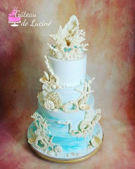 Wedding cake BORA-BORA