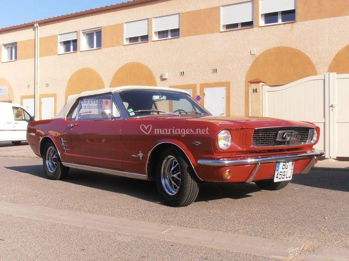 Mustang V8 de 1966