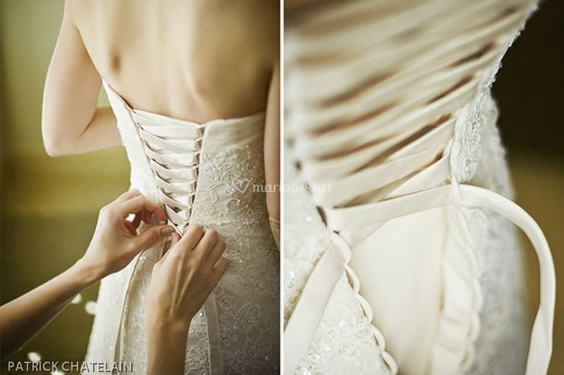Studio f360 photographie - corset de mariée