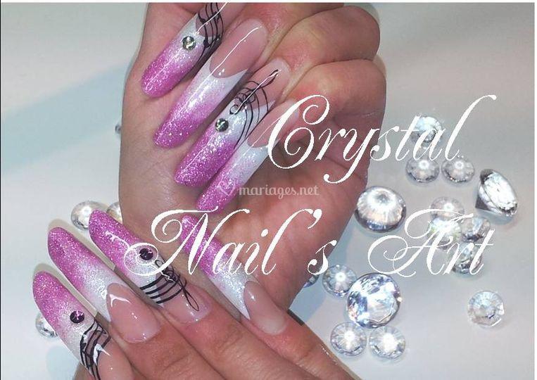 Crystal Nail's Art