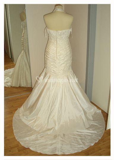 Robe de mariée réalisée sur-mesure