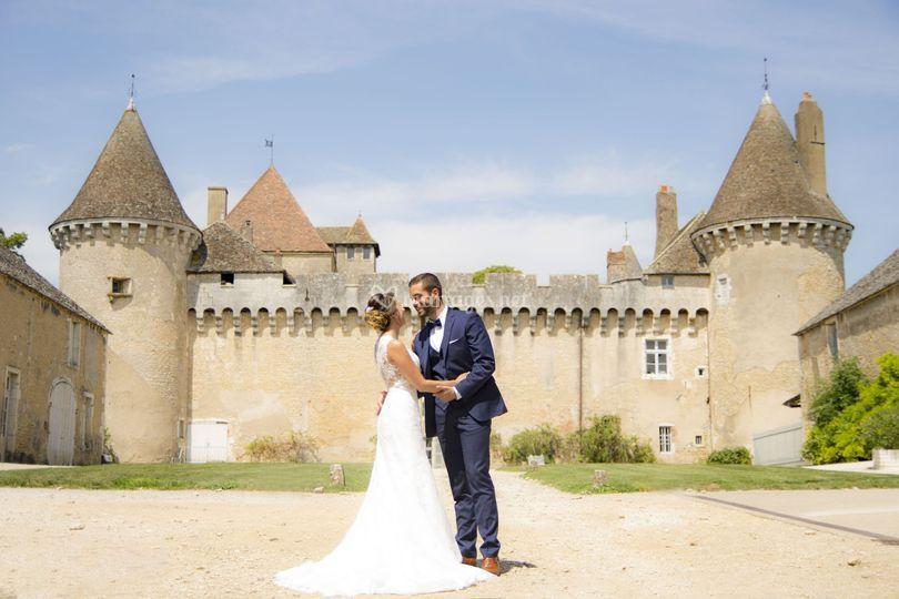 Les marié et le chateau