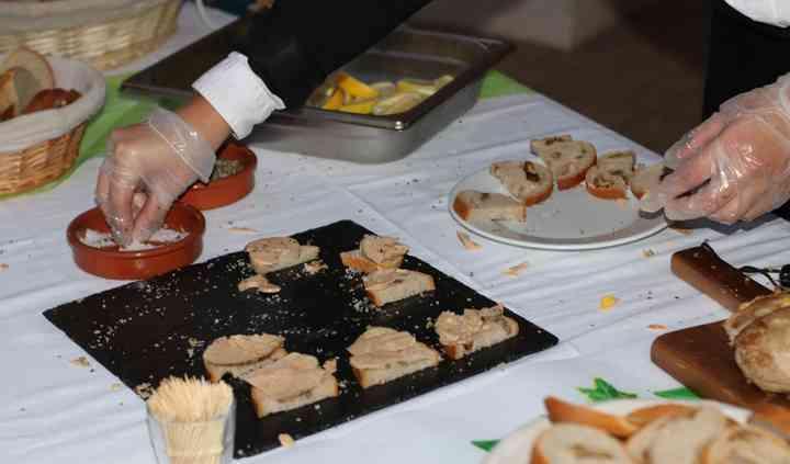 Découpe de foie gras
