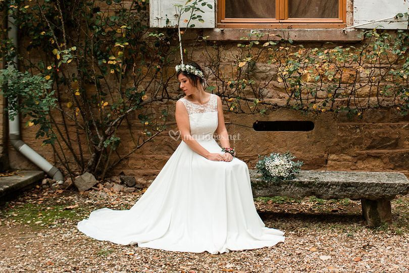 Andréa faire ma robe de mariée