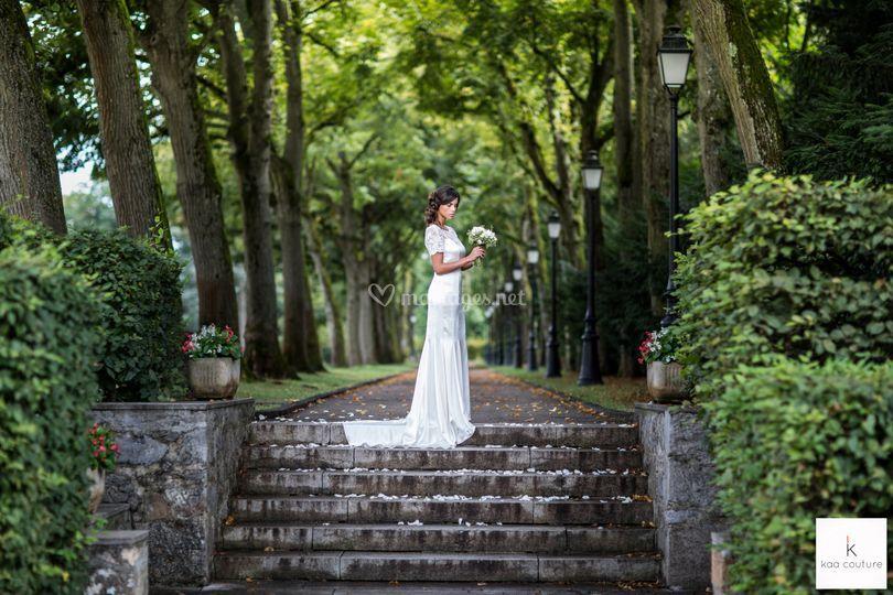 Kaa robe de mariée sirène