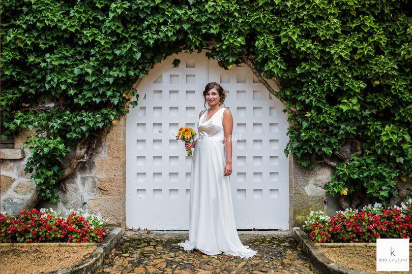 Kaa robe de mariée fluide