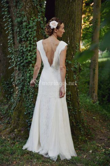 Modèle roxane robe de mariée