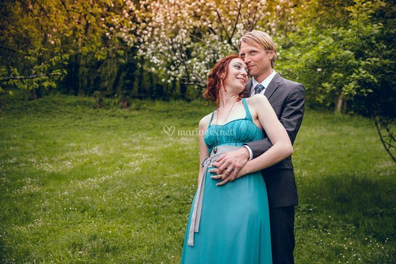 Robes de mariée en couleur