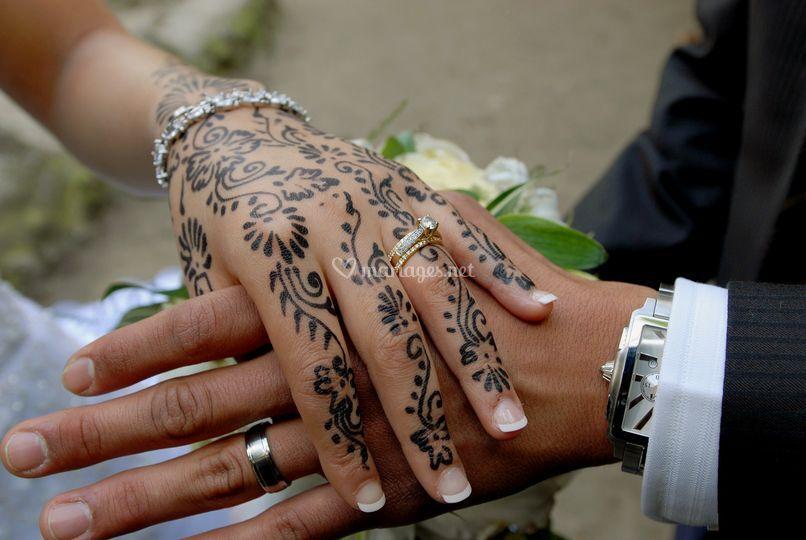 Mariage oriental sur Photo Fatima