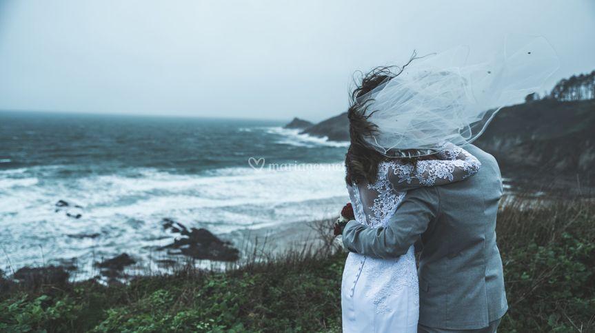 Mariage sous la tempête !
