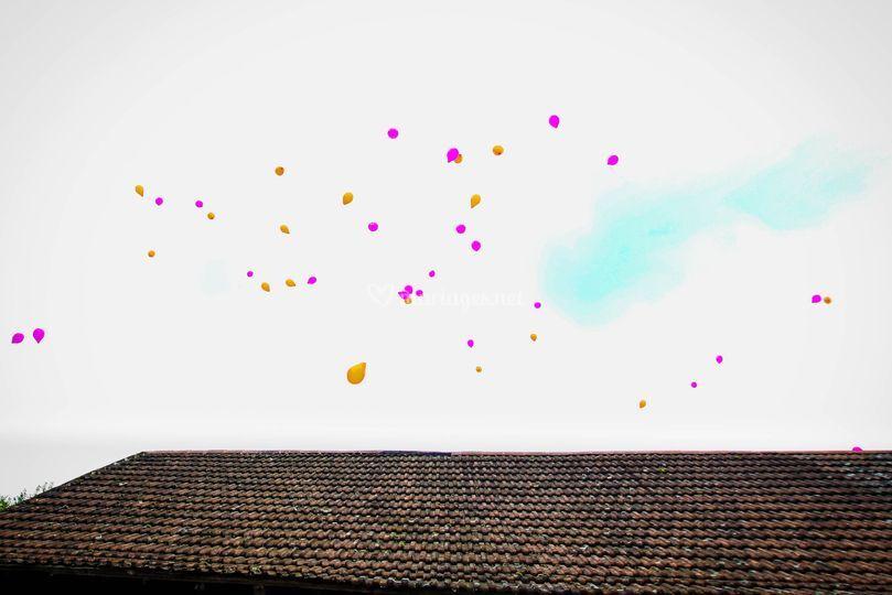 Lâcher de ballons