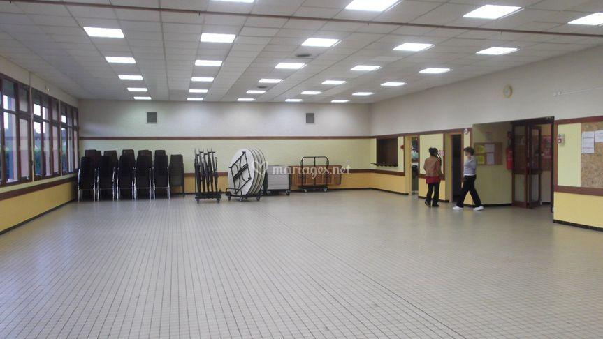 Salle AVANT la décoration