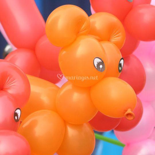 Ballon chien