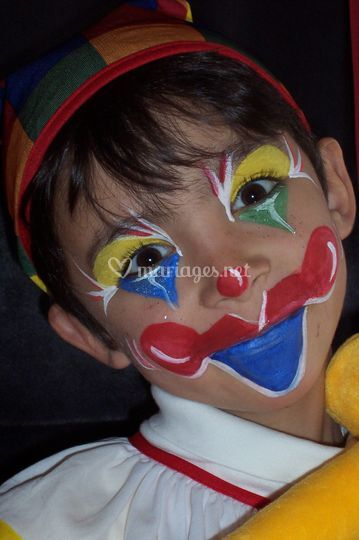 Maquillage clown