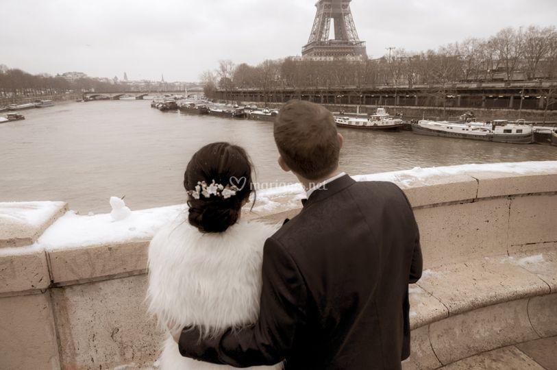Paris janvier 2021