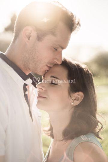 Couple séance engagement