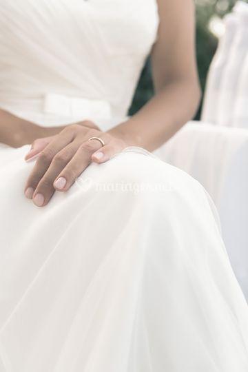 Mariée alliance