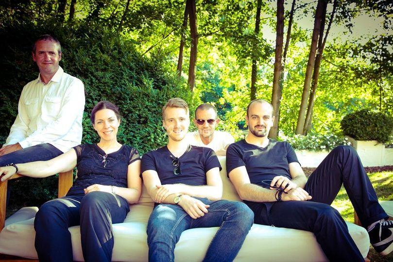 Les musiciens du groupe