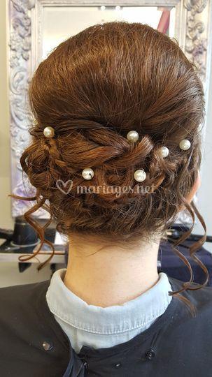 Mariée perles