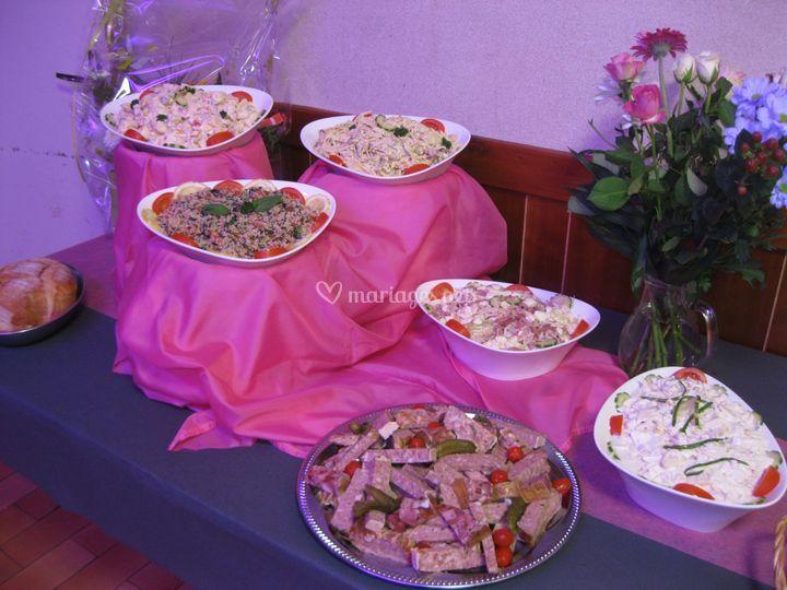 présentation  buffet