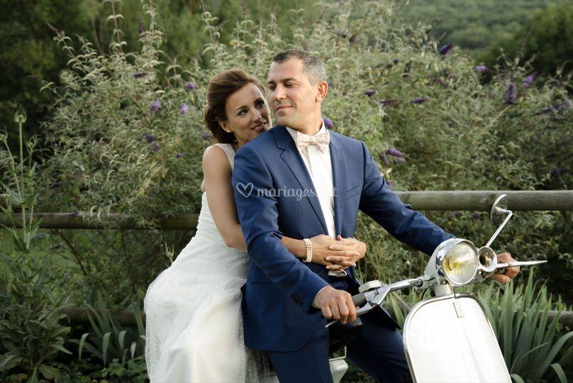 Mariage champêtre Aydat