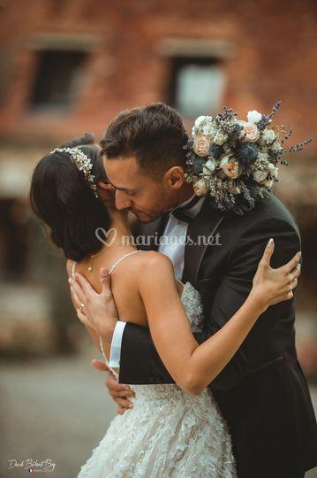 Moody wedding photo 1