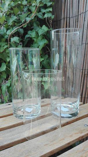 Location trio de vases