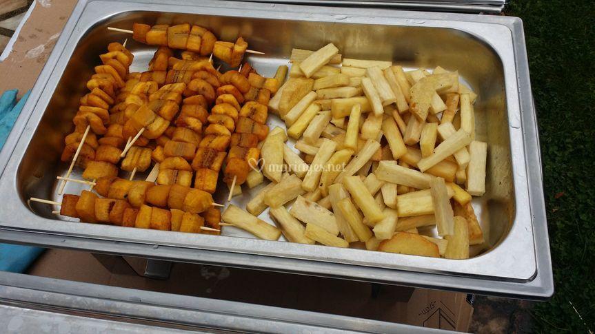 Frites d'ignames