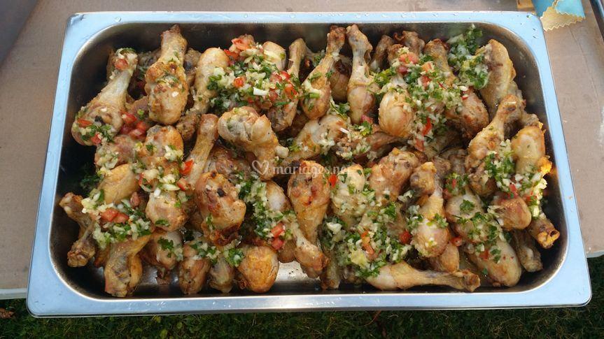 Pilons de poulets