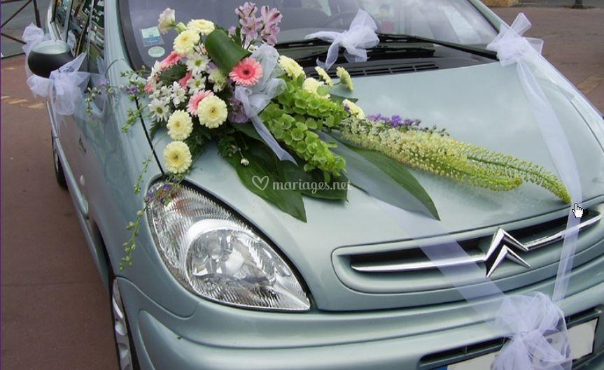 Les décorations de voitures