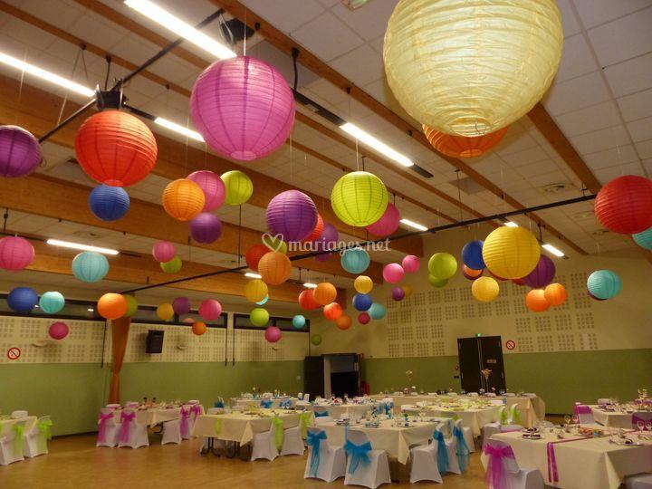 Plafond lanternes
