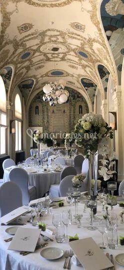 Centre de table royal