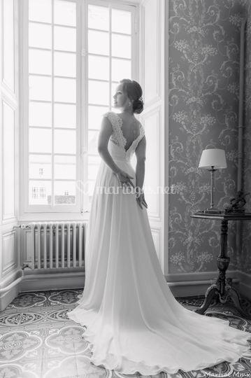 Robe de  mariée bijoux