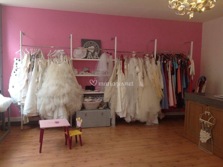 Robes de soirées et mariées