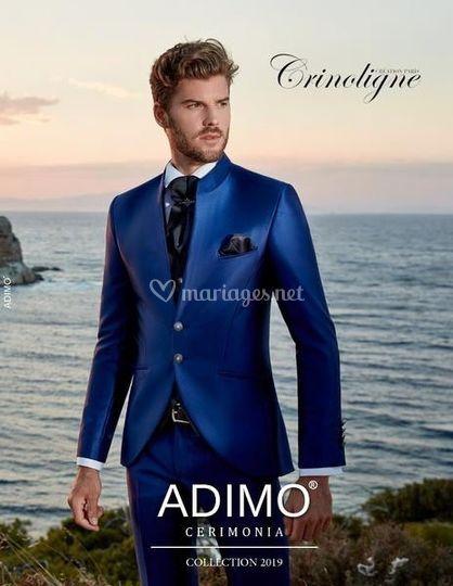 Costume Adolfo bleu