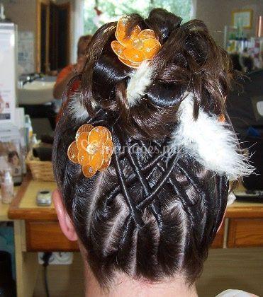 Sur cheveux long et épais