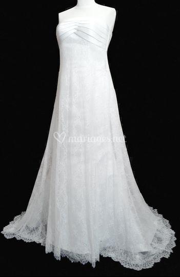 Robe de mariée en dentelle2014