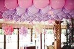 Décoration ballons plafond