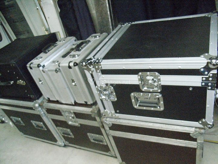 Rangement des fly cases