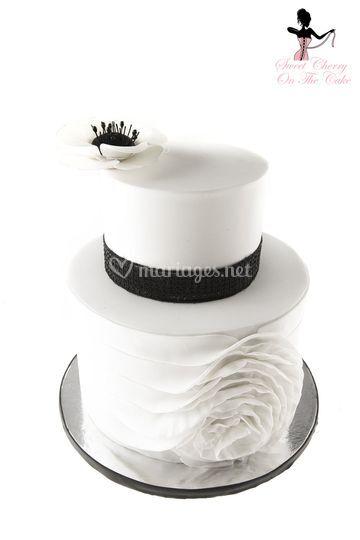 Wedding cake thème 60's