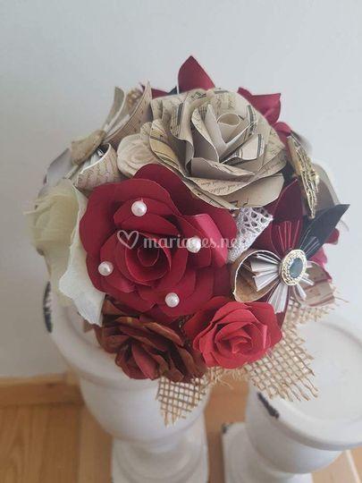 Bouquet style retro