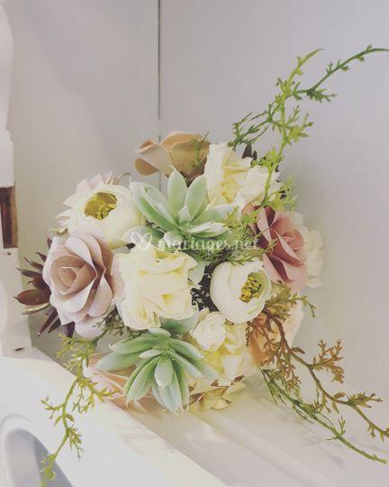 Bouquet style naturel