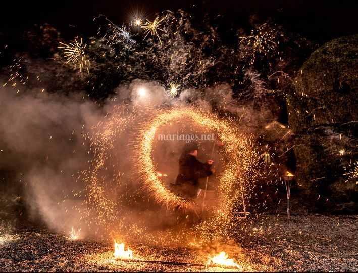 Final pyrotechnique