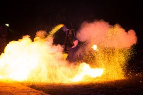Shay - Spectacle de feu et lumières LED