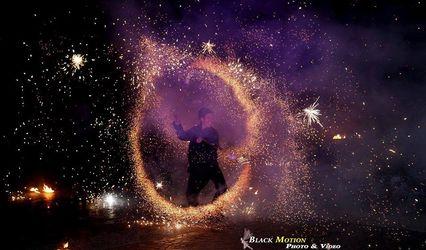 Shay - Spectacle de feu et lumières