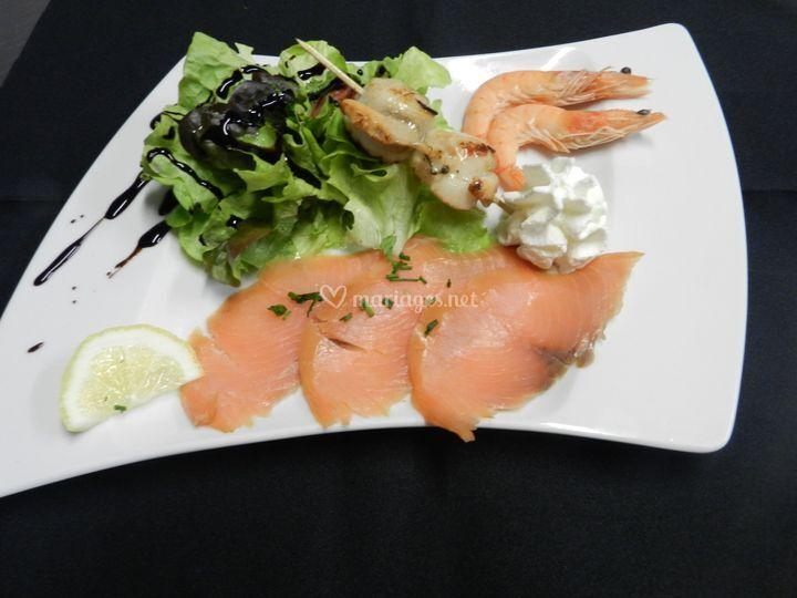 Salade Océane, au citron