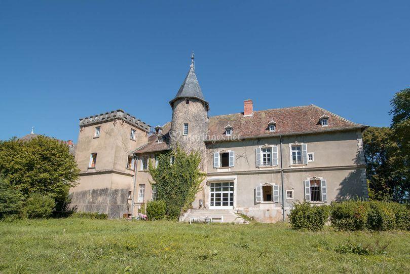 Les tours du château