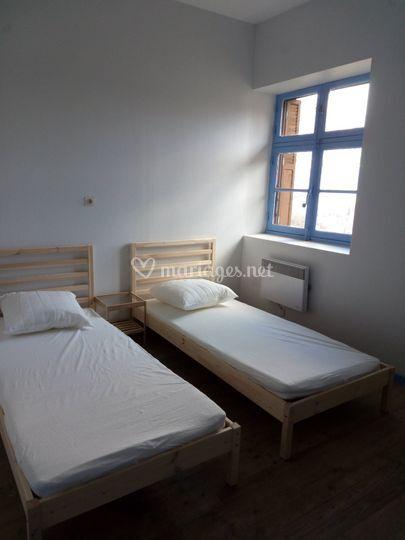 Une des chambres Hostellerie