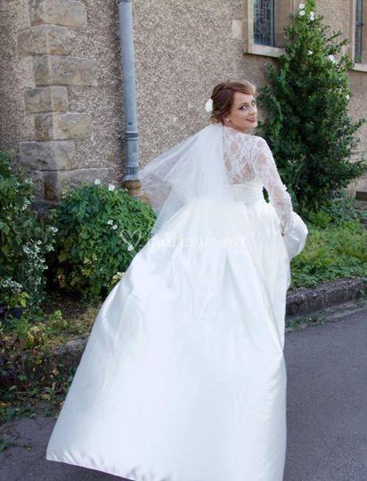 Robe modèle Camélia