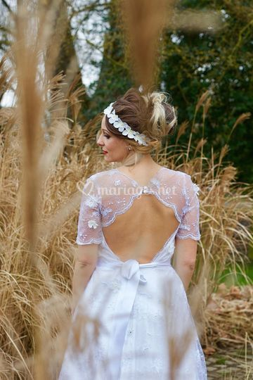 Robe modèle Violette